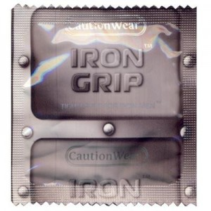 Caution Wear Iron Grip Snugger Fit Condoms